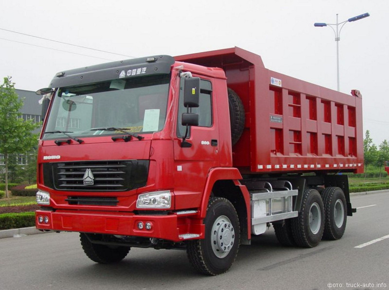 грузовой автомобиль howo
